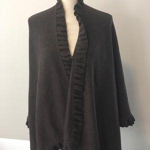 Sutton Studio (Bloomingdales) merino wool wrap